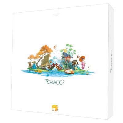 京都から江戸までの東海道を旅するボードゲーム『東海道』日本語版【8月下旬発売予定】