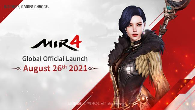 龍と人々の物語 K-FANTASY MMORPG <MIR4> 8月26日正式リリース