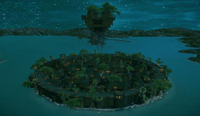 専用フィールド「波迎える砦」