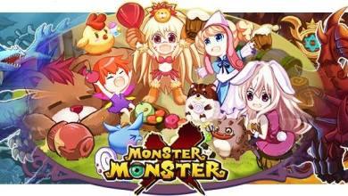 Monster X Monster - Banner - Game Anime Screen