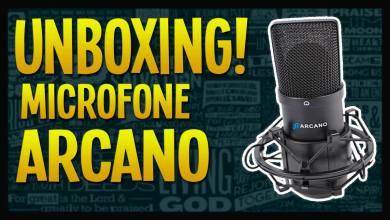 Unboxing - Microfone Arcano - BG Gameplays - Imagem