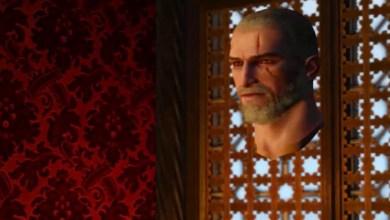 The Witcher 3 - Geralt Head