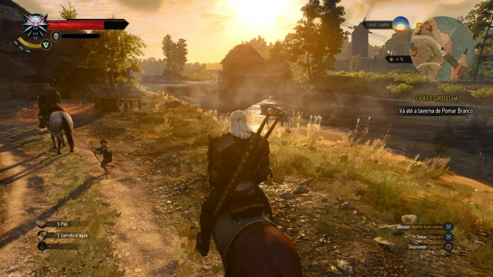The Witcher 3 - Pomar Branco