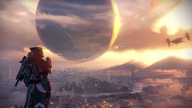 Destiny - Vista da Torre - Terra