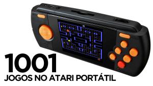 Como colocar 1001 jogos no Atari Flashback Portátil!