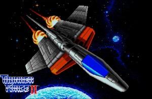 Thunder Force II – A estreia da famosa série espacial no Megão!