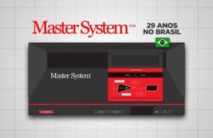 Parabéns Master System, 29 anos no Brasil!