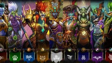 Personagens do Ringue do Rastakhan Imagem