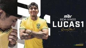 CS:GO: MIBR anuncia contratação de LUCAS1