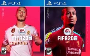 EA Sports anuncia Eden Hazard e Virgil Van Dijk nas capas do FIFA 20