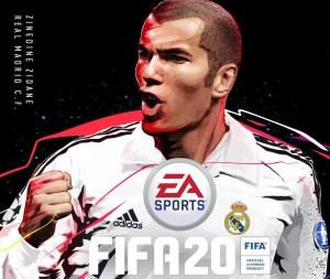 Zidane é anunciado como capa de FIFA 20: Ultimate Edition