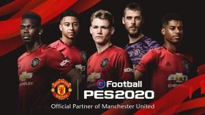 Konami anuncia parceria com Manchester United em PES 2020