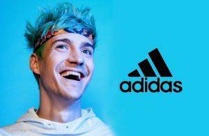 Ninja revela parceria com Adidas