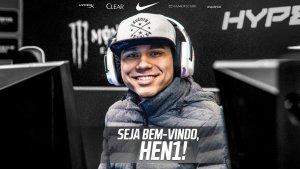 CS:GO: FURIA anuncia HEN1 para substituir ableJ