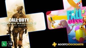 Call of Duty: Modern Warfare 2 Remastered em agosto na PS Plus