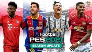 Konami revela capa de PES 2021 Season Update com Messi e Cristiano Ronaldo