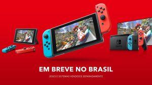 Nintendo anuncia que lançará Switch oficialmente no Brasil em breve