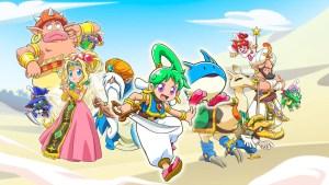 Wonder Boy: Asha in Monster World chega em 2021 para PS4 e Switch