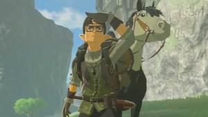 NPCs de Zelda: Breath of the Wild são personagens Mii avançados
