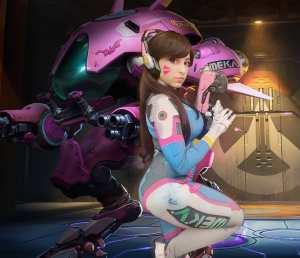 Veja um belo cosplay da D.VA, do game online Overwatch