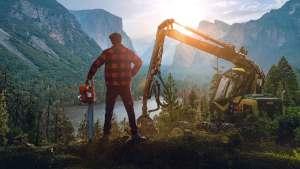 Lumberjack's Dynasty permite viver a vida de um lenhador e está disponível em português no Steam