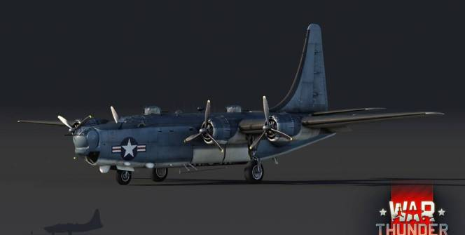 War thunder : PB4Y-2 Privateer