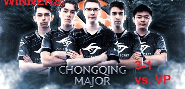 team Secret Chongqing Major winners!