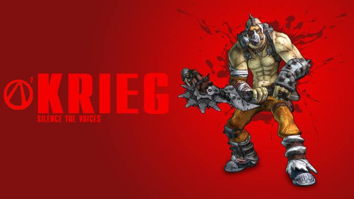 Borderlands KRIEG Borderlands 2 Playable Characters