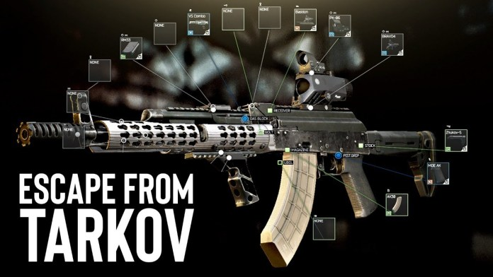 Escape From Tarkov Guns
