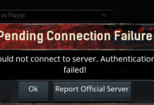 Conan Exiles Authentication Failed Issue