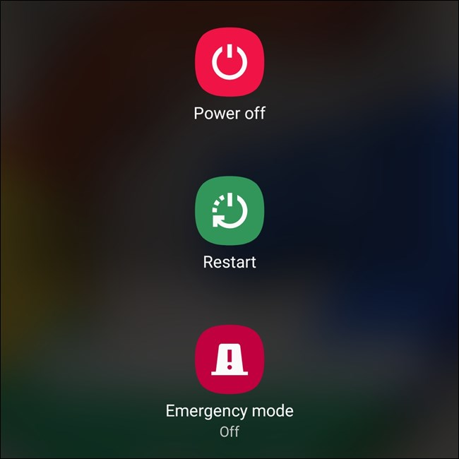 power off restart emergency mode
