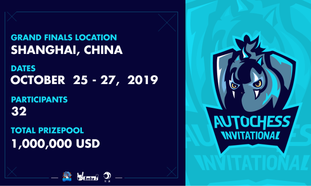 Auto Chess Invitational 2019 announced Premium Partner