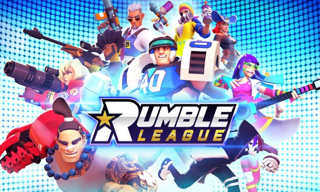 Check out the new mobile game Rumble League at Campus Game Fest 2019