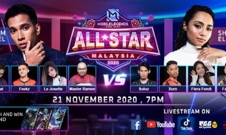 The First Mobile Legends All Star Showmatch is here! Naim Daniel, Shalma Eliana, Soloz, Penjahat, and more!