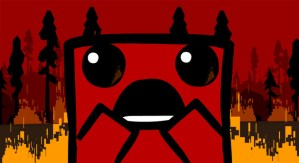 Super Meat Boy splats onto PS4 and Vita this fall, free with PSPlus