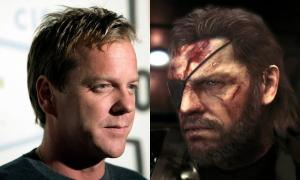 24 star Kiefer Sutherland is the new voice of Snake in Metal Gear 5