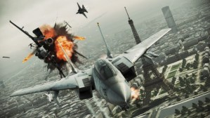Ace Combat: Assault Horizon Legacy Plus locked on to the 3DS