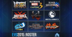 Evo 2015 tournament line-up announced