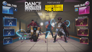 Borderlands Claptrap and Nisha now playable in Dance Central Spotlight