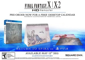 Final Fantasy X/X-2 HD Remastered PS4 edition coming in May