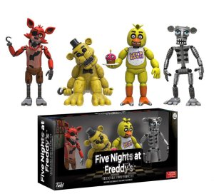 Freddy Fazbear and Friends figurines to be released by Funko