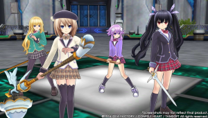 MegaTagmension Blanc + Neptunia vs Zombies coming this April