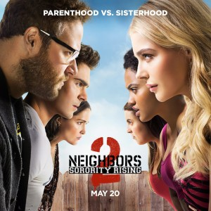 Film Review: Neighbors 2 is more of the same with slightly diminishing returns