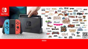 Nintendo announced 62 Indie titles coming to the Switch