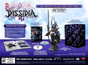 Dissidia Final Fantasy NT gets a release date