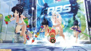 Senran Kagura Peach Beach Splash available in September