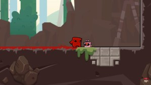 Super Meat Boy Forever coming to the Switch.