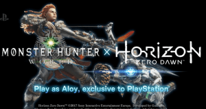 PS4 to get Monster Hunter World Beta and Horizon DLC