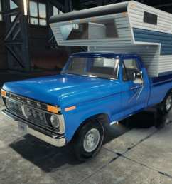 this mod adds 1977 ford f350 to the car mechanic simulator 2018  [ 1600 x 675 Pixel ]
