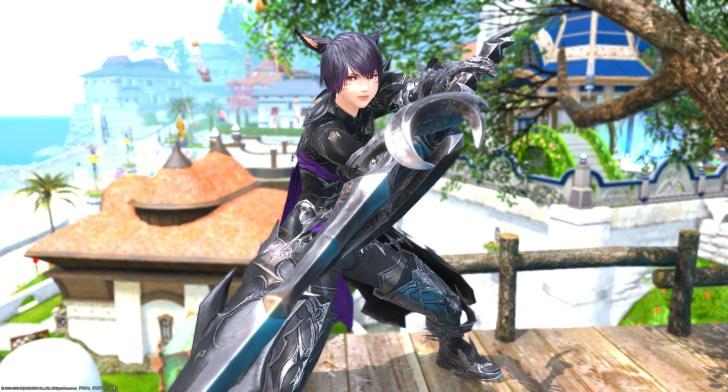 暗黒騎士AF3装備